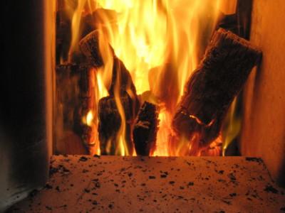 薪の燃焼: Combustion